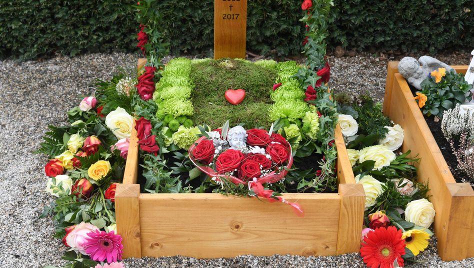 Grab des 15-jährigen Opfers