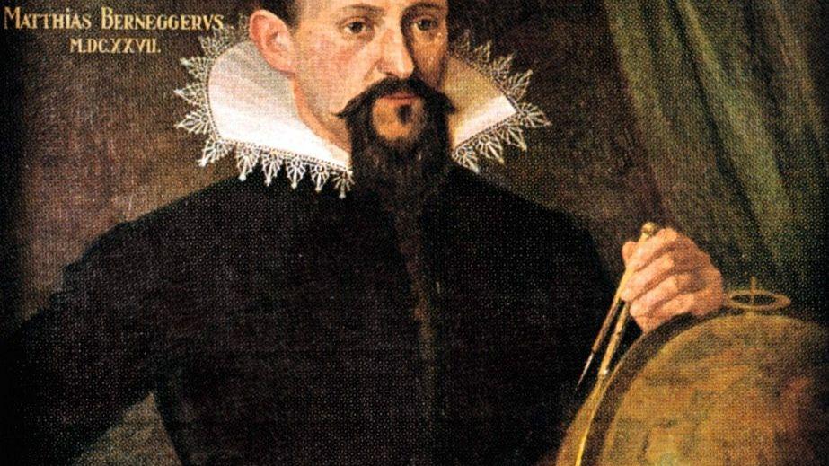 Astronom Kepler Porträt im Straßburger Münster, 1627