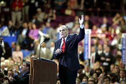 Rudy Giuliani: Der Star des Abends