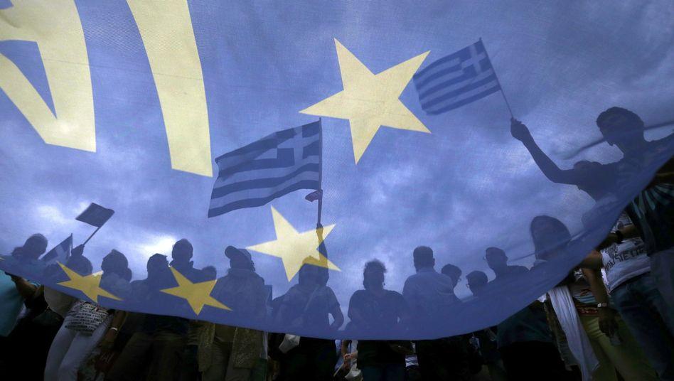 Pro-Europa-Demonstration in Athen (im Juni): Abwegige Idee der Souveränität