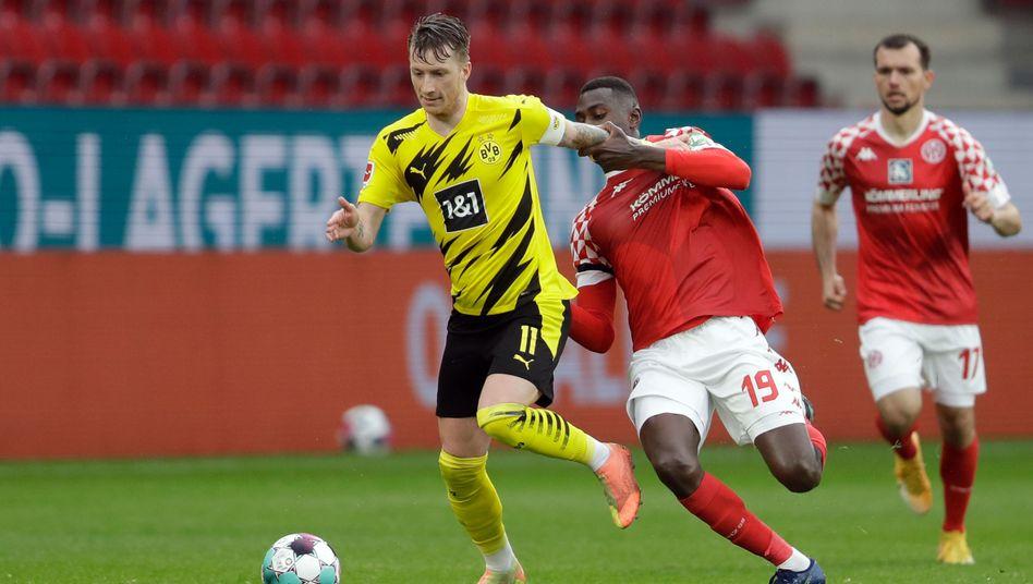 Marco Reus traf zum 2:0 für Dortmund