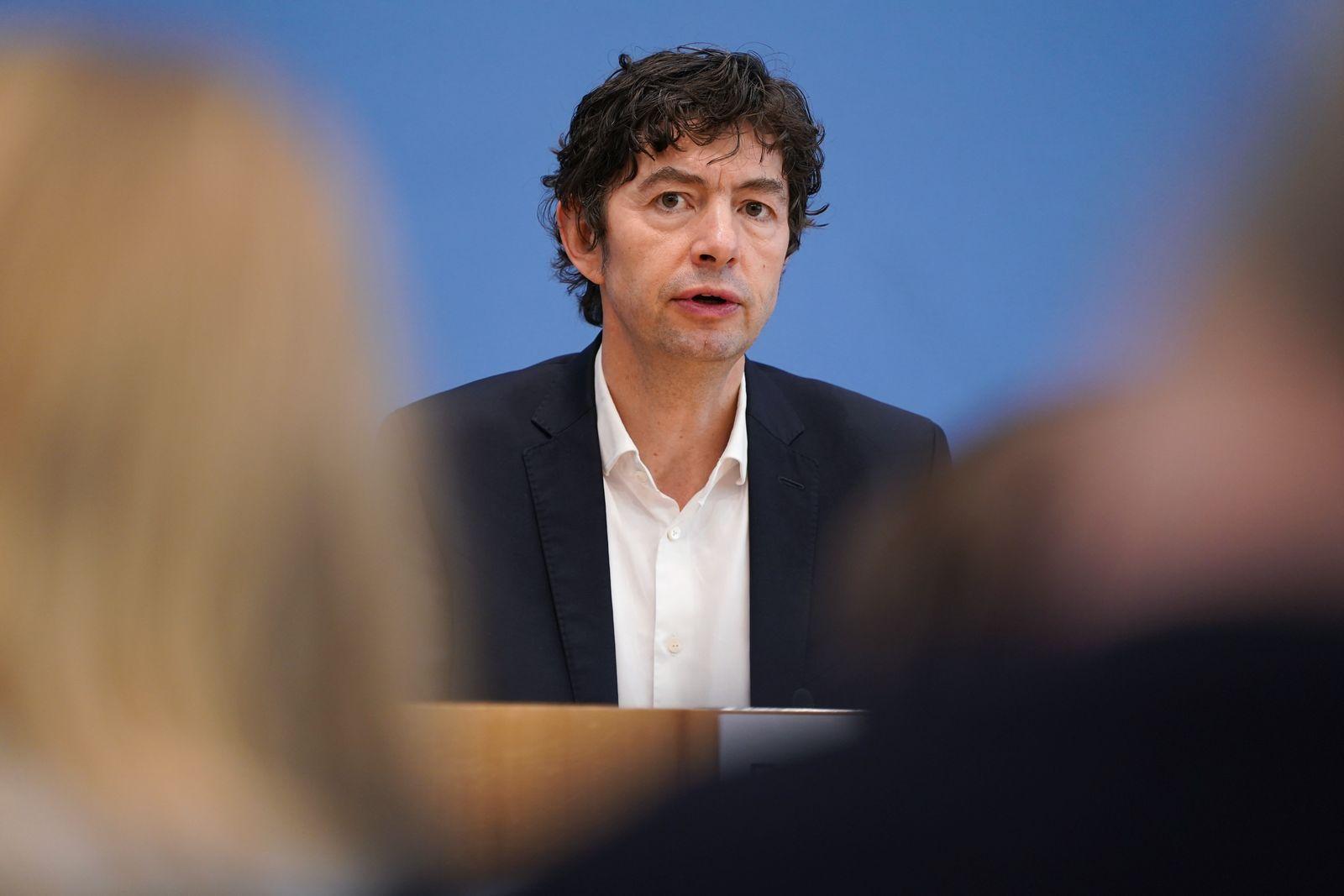 German Health Authorities Give Coronavirus Update