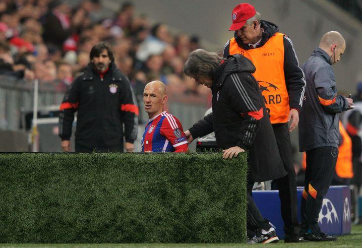 Arjen Robben: Genervt vom Nerv