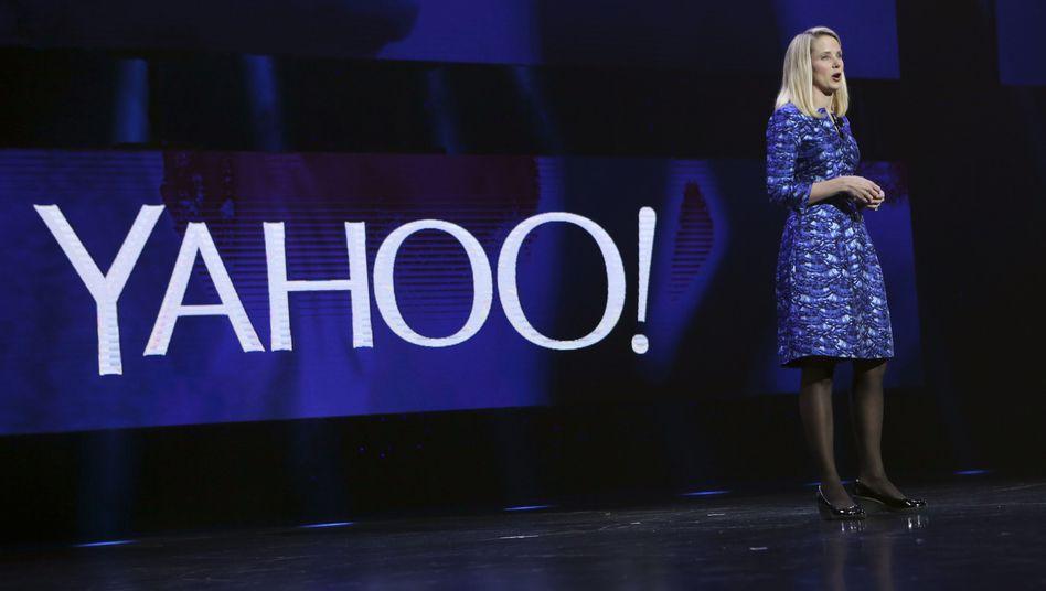 Yahoo-Chefin Marissa Mayer: Partnerschaft mit Oracle soll Marktanteile verbessern