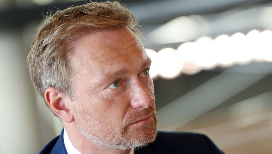 Darf nicht bei einer Veranstaltung der Universität Hamburg reden: Der FDP-Vorsitzende Christian Lindner