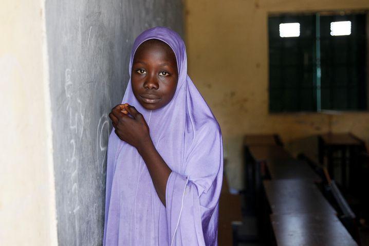Schülerin in Nigeria