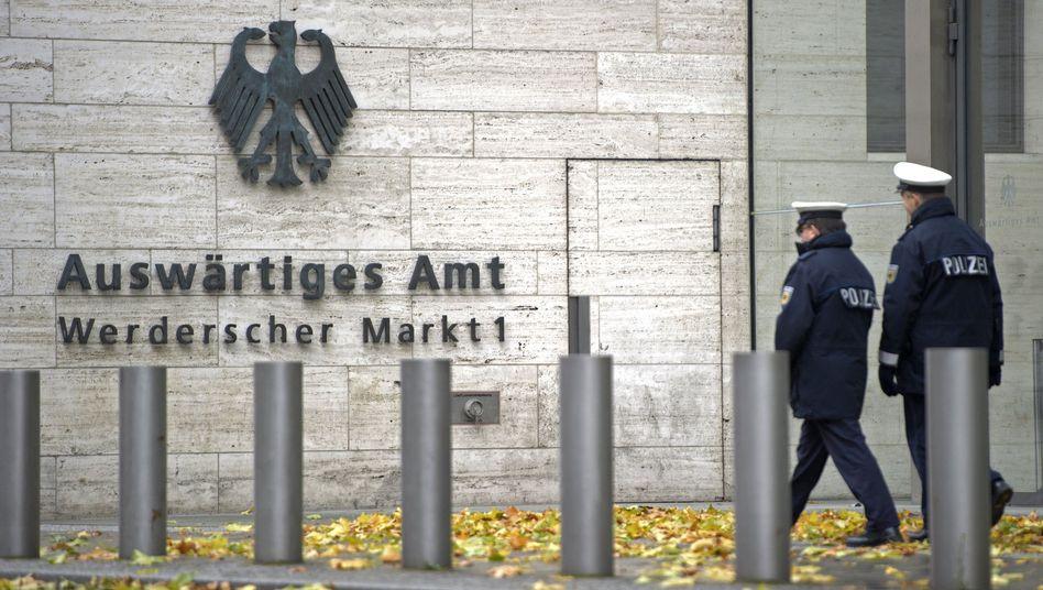 Auswärtiges Amt in Berlin: Bereits 2004 gab es einen Untersuchungsausschuss