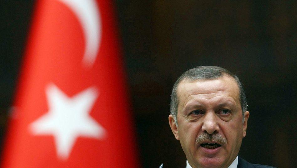 Türkischer Premier Erdogan: Erbitterter Gegner des Assad-Regimes