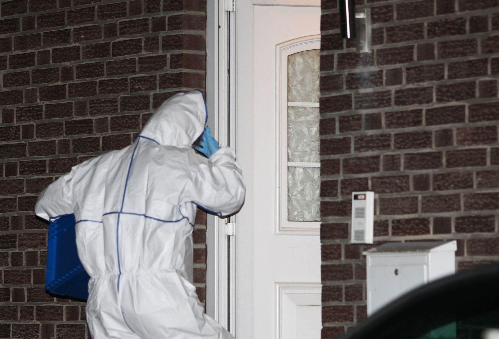 Drei Tote in Wohnhaus entdeckt
