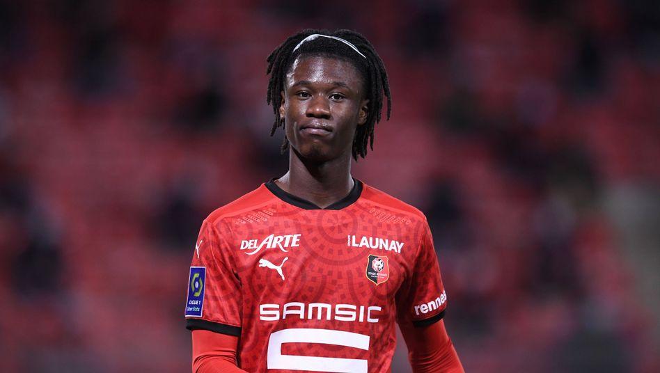Gerade 18 Jahre alt und schon französischer Nationalspieler: Eduardo Camavinga
