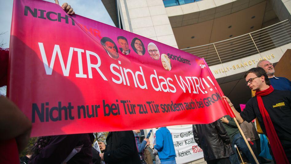 Parteikonvent: SPD schärft Forderungskatalog an