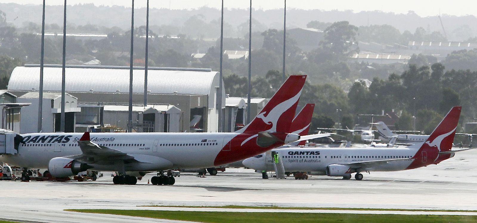 Perth Flugverbot Australien