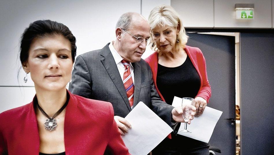 Kontrahenten Wagenknecht, Gysi: »Eine politische Ich-AG«