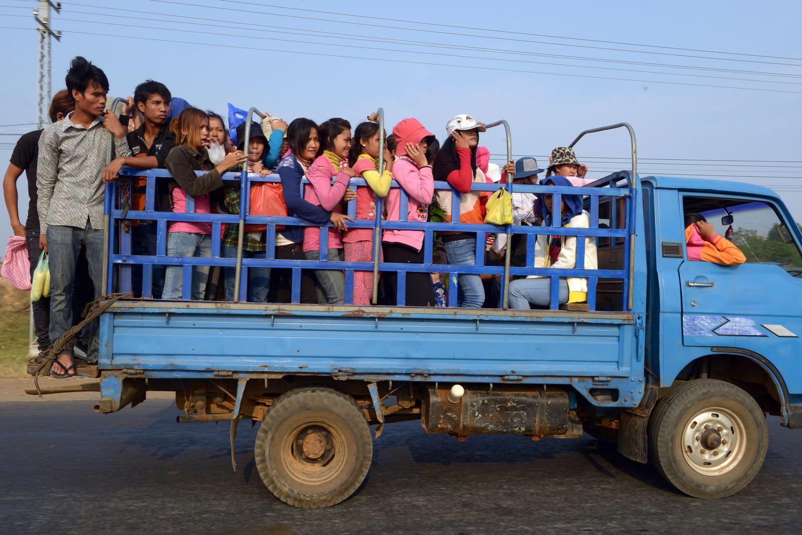 Kambodscha/ Arbeitsbedingungen/ Bericht