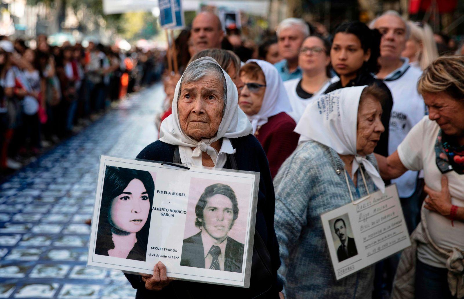 TOPSHOT-ARGENTINA-HUMAN RIGHTS-COUP-ANNIVERSARY