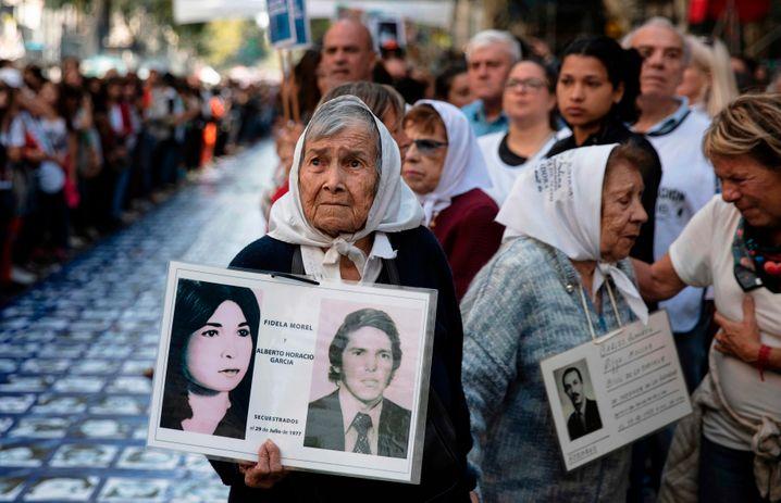Rund 30.000 Argentinier verschwanden während der Diktatur – und Hunderte von Kindern