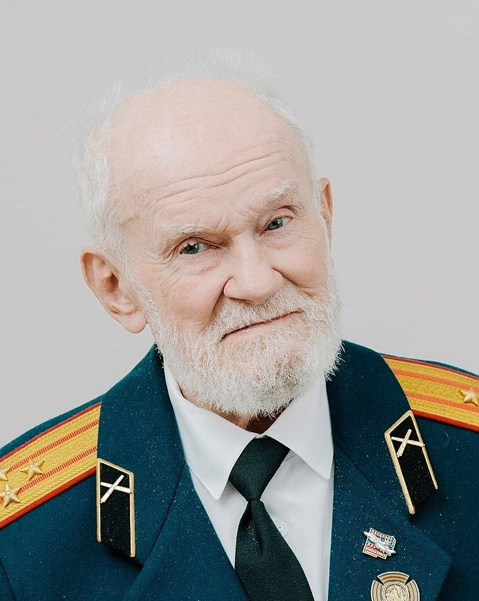 """Nikolai Pudow, born in 1921: As a captain in the Red Army, he was one of the occupiers. There's one German word he hasn't forgotten: """"Untermensch""""."""