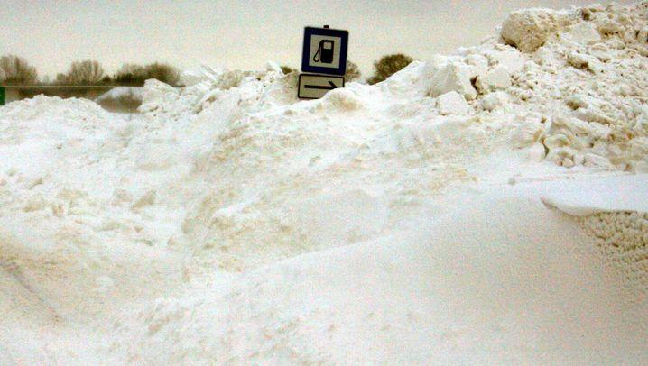 """""""Daisy"""": Deutschland versinkt im Schnee"""