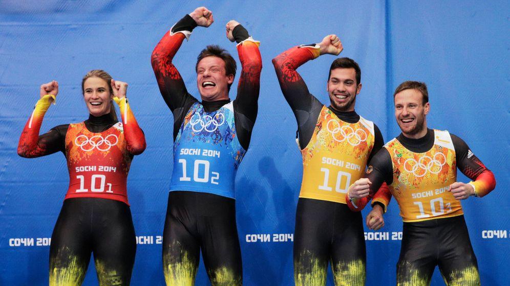 Olympische Winterspiele: Vierter Start, viertes Gold