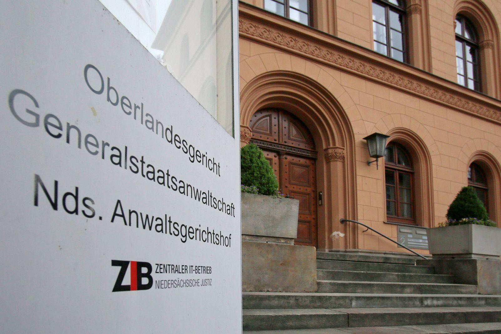 EINMALIGE VERWENDUNG Oberlandesgericht Celle