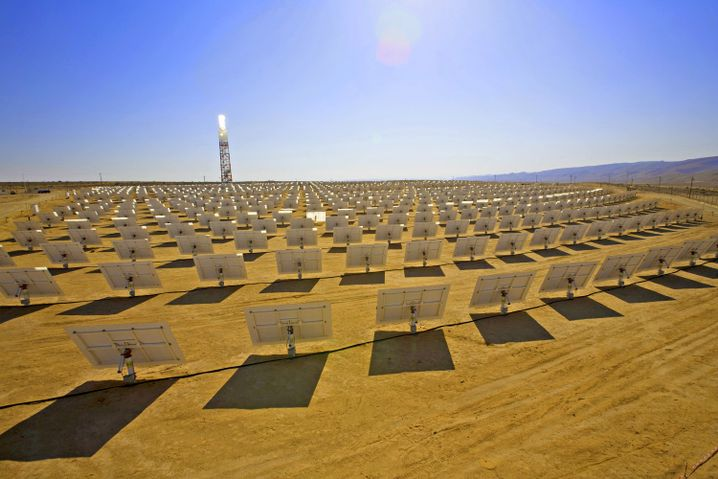 Solarthermie-Kraftwerk: Desertec soll Europa mit Öko-Strom versorgen