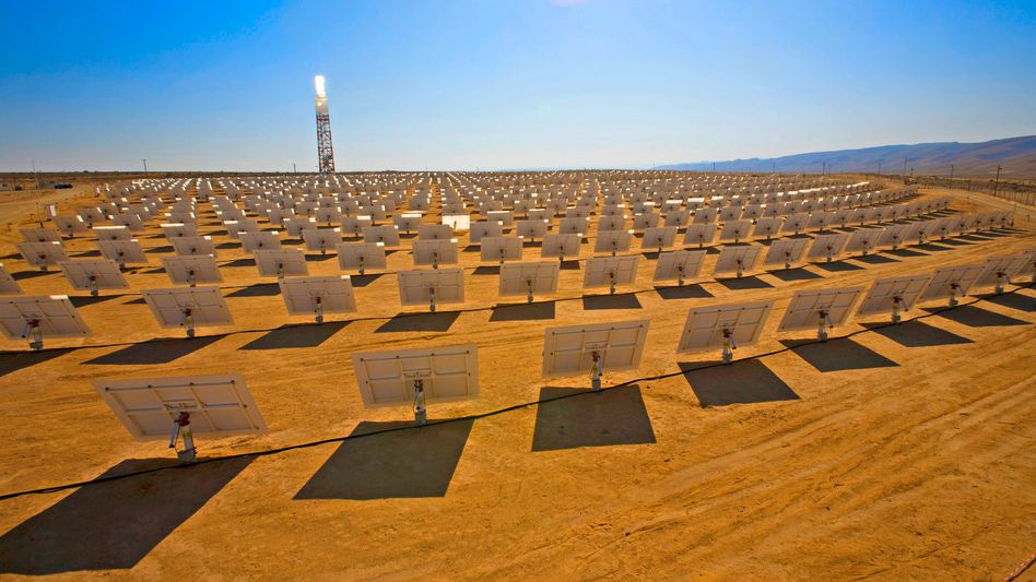 Solarkraftwerk in Negev-Wüste in Israel: Erstes Desertec-Kraftwerk naht