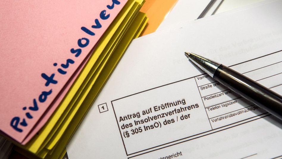 Antrag zur Eröffnung eines Insolvenzverfahrens