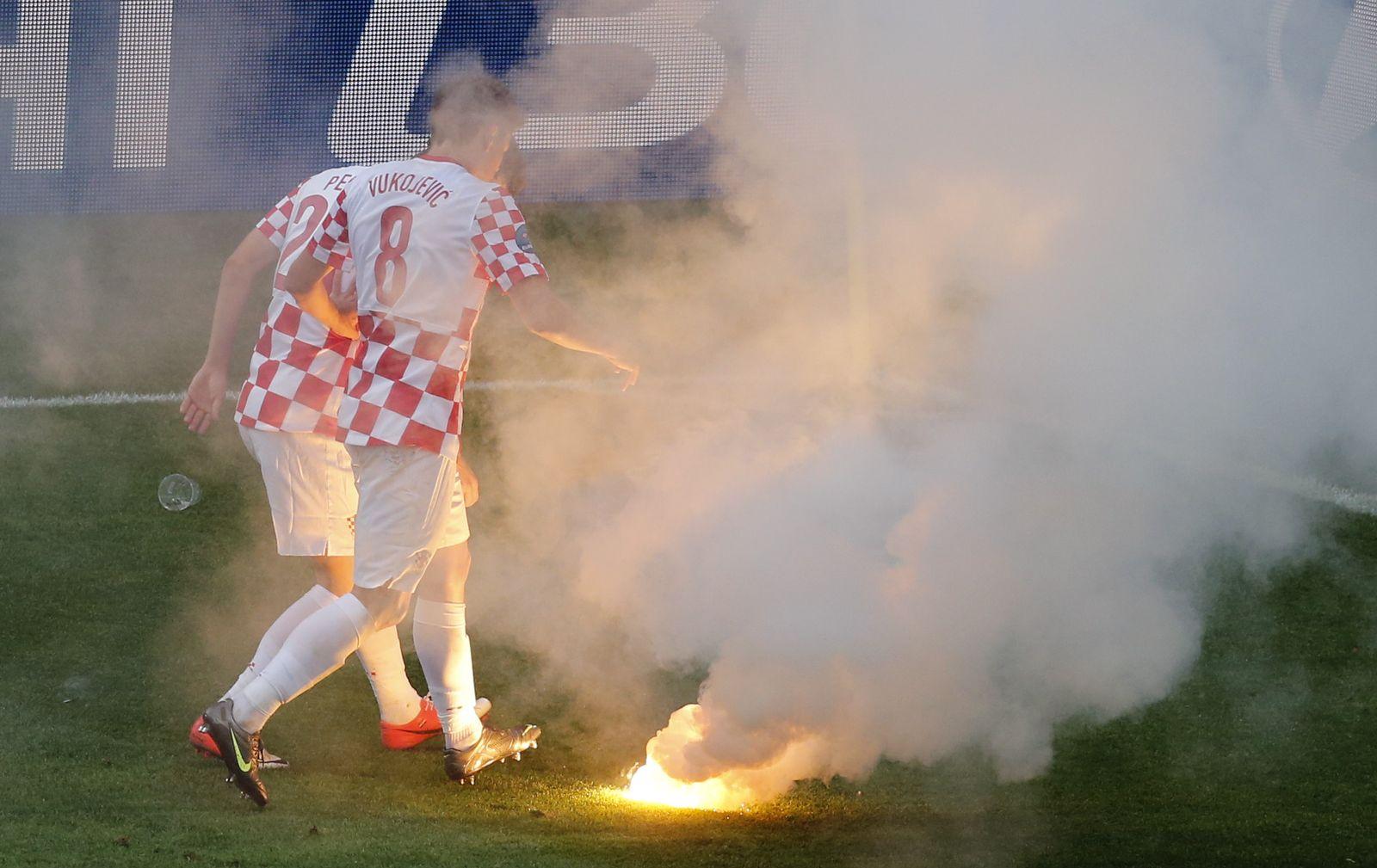 Italien / Kroatien / Feuerwerk