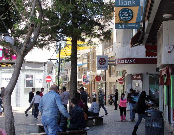 Zyprische Hauptstadt Nikosia: Erholung vorerst kaum zu erwarten