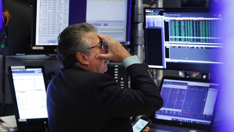 """""""Die Anleger sind noch nicht im Panikmodus"""" - verunsichert ist die Wall Street dennoch"""