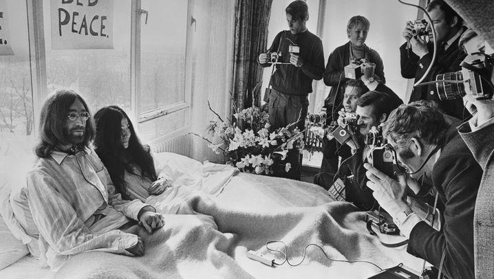 John Lennon & Yoko Ono: Heute bleiben wir im Bett. Morgen auch