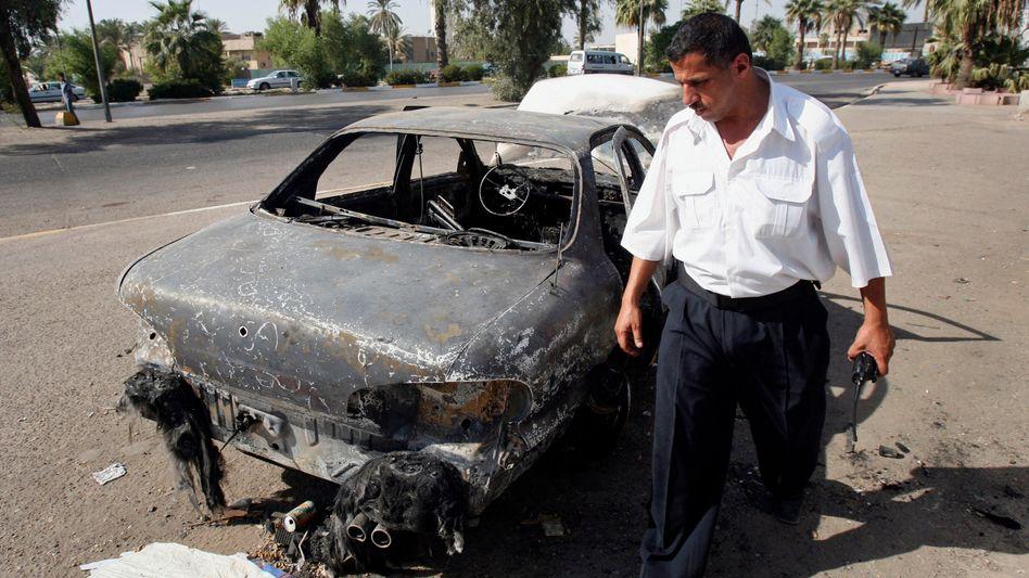 Der Nisur-Platz in Bagdad: 14 Zivilisten getötet