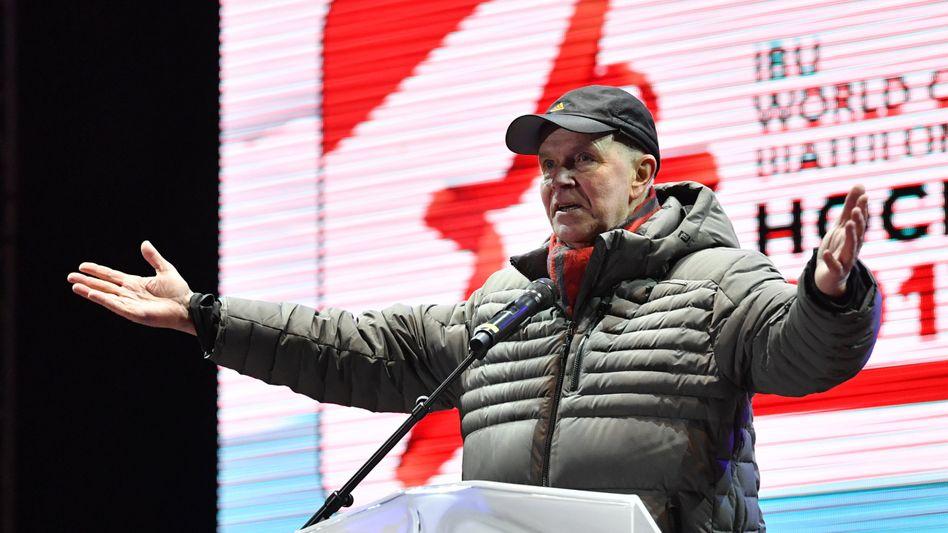 Anders Besseberg regierte den Biathlon-Weltverband wie ein absolutistischer Herrscher