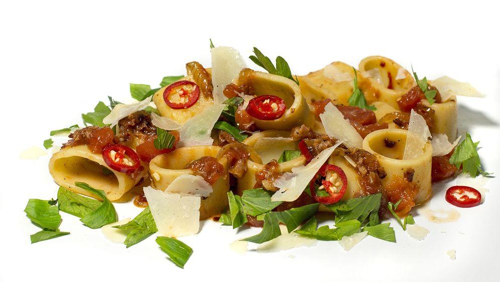 Rezept für Calamarata All'Amatriciana: Kochen für Erdbebenopfer