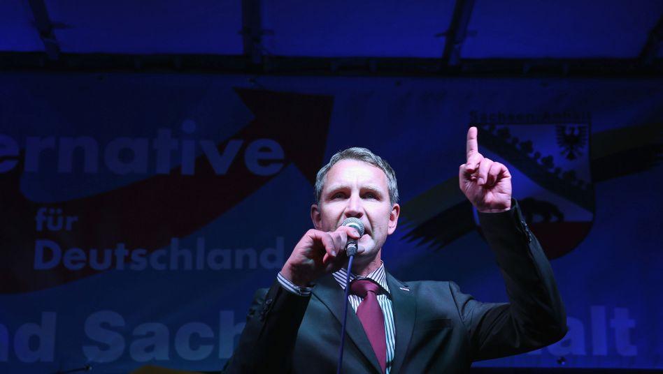 Thüringer AfD-Chef Höcke: Geht er freiwillig?