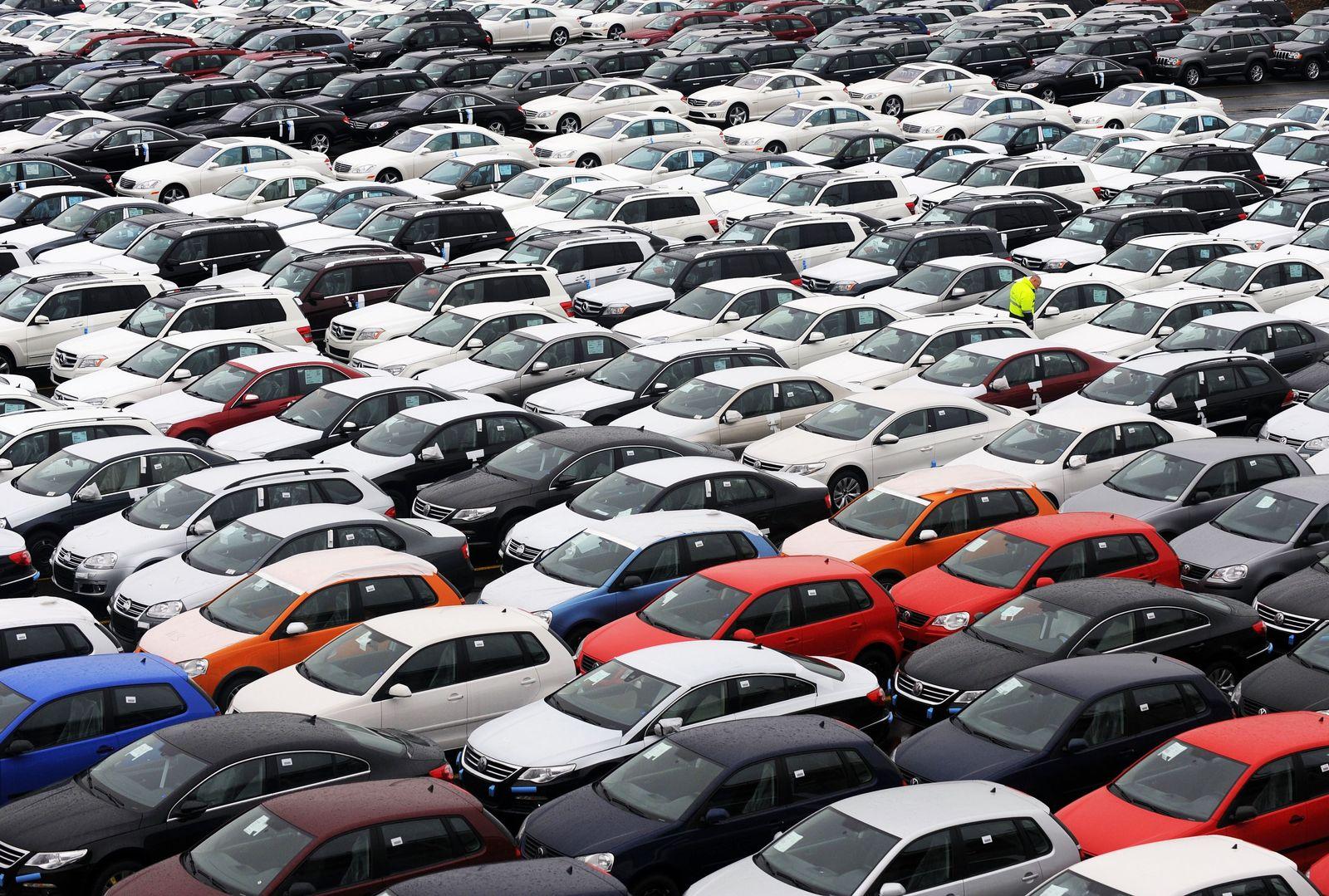 Export von Autos