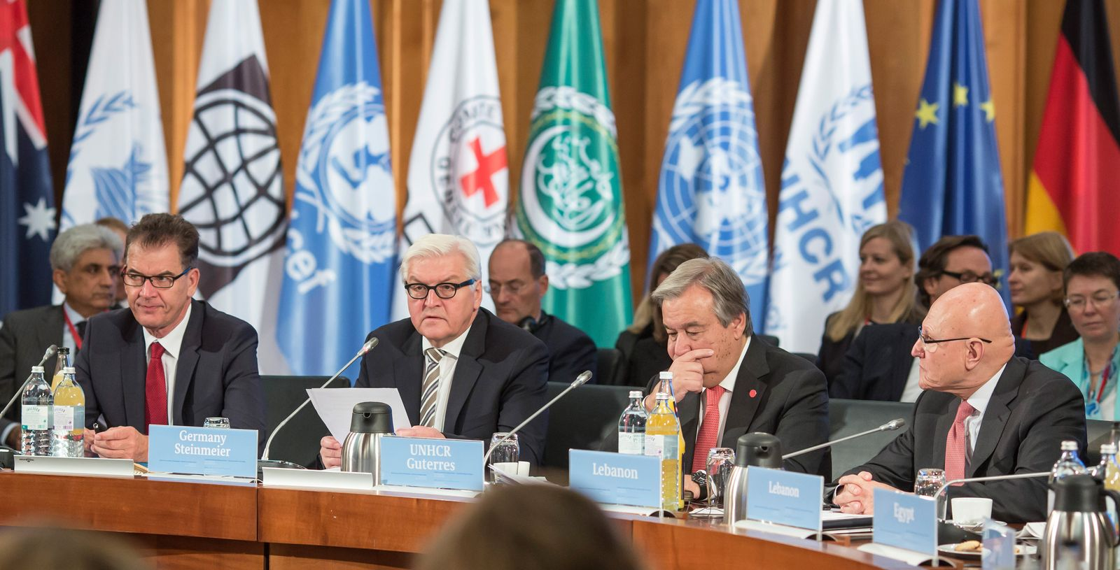 Konferenz zur syrischen Flüchtlingslage