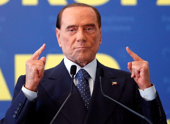 Forza-Italia-Chef Berlusconi