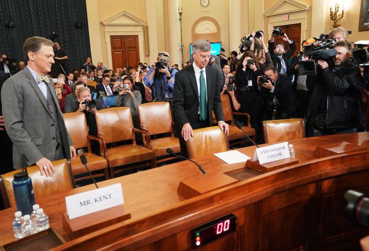 Erste Impeachment-Kronzeugen gegen Trump: Schockwellen ins Weiße Haus