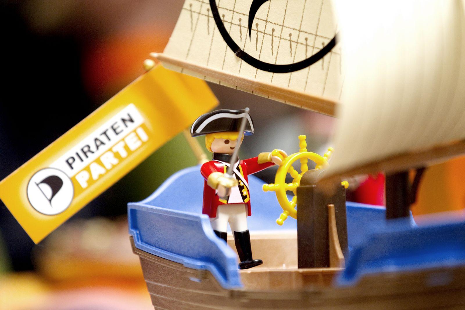 NICHT VERWENDEN Piratenpartei Symbolbild Piraten Lego