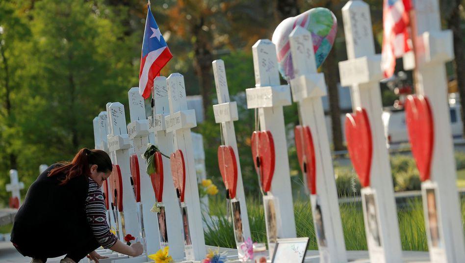 Trauernde in Orlando