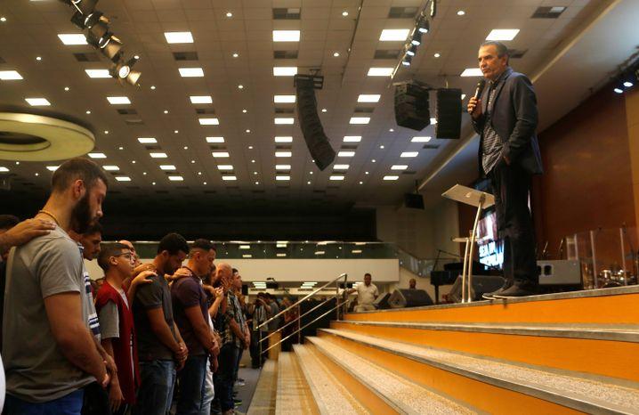 Evangelikale Messe in Brasilien