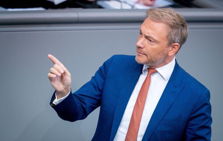 """Christian Lindner, FDP-Fraktions- und Parteivorsitzender: """"Technologieweltmeister werden"""""""