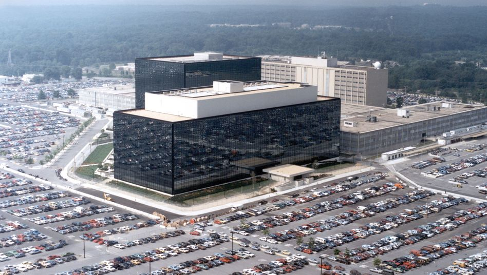National Security Agency (NSA) Hauptsitz in Fort Meade, Maryland