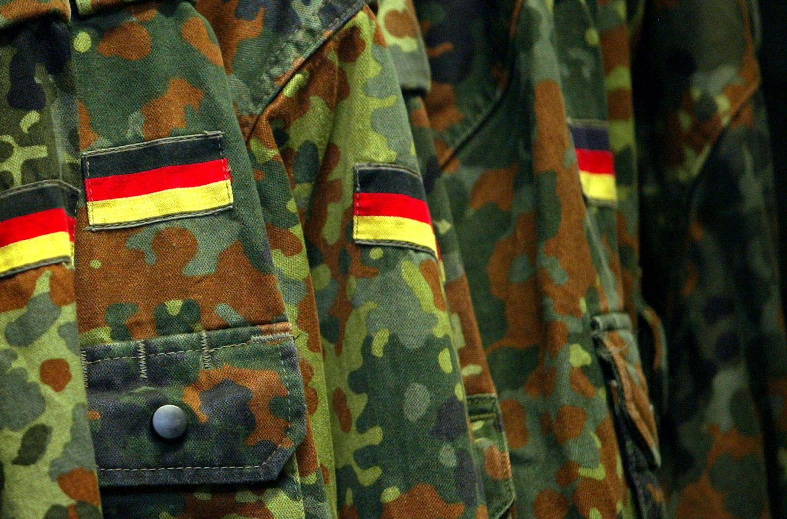 NICHT VERWENDEN Bundeswehr / Rekruten
