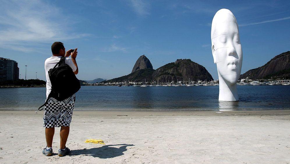 """Rio den Janeiro: """"Der Blick in meine Träume"""" am Strand"""