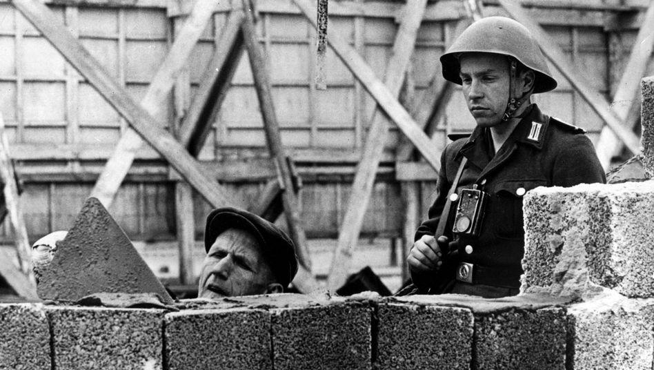 Bau der Berliner Mauer: Die Hälfte der Deutschen kennt das Datum, an dem der Mauerbau begann