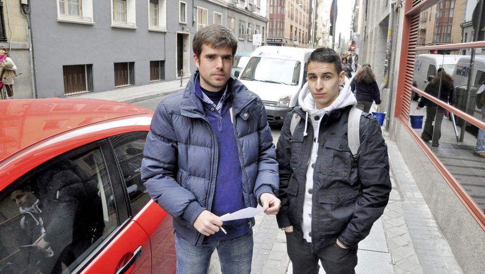 """Arbeitslose in Spanien: """"Wir werden das Land verlassen müssen"""""""