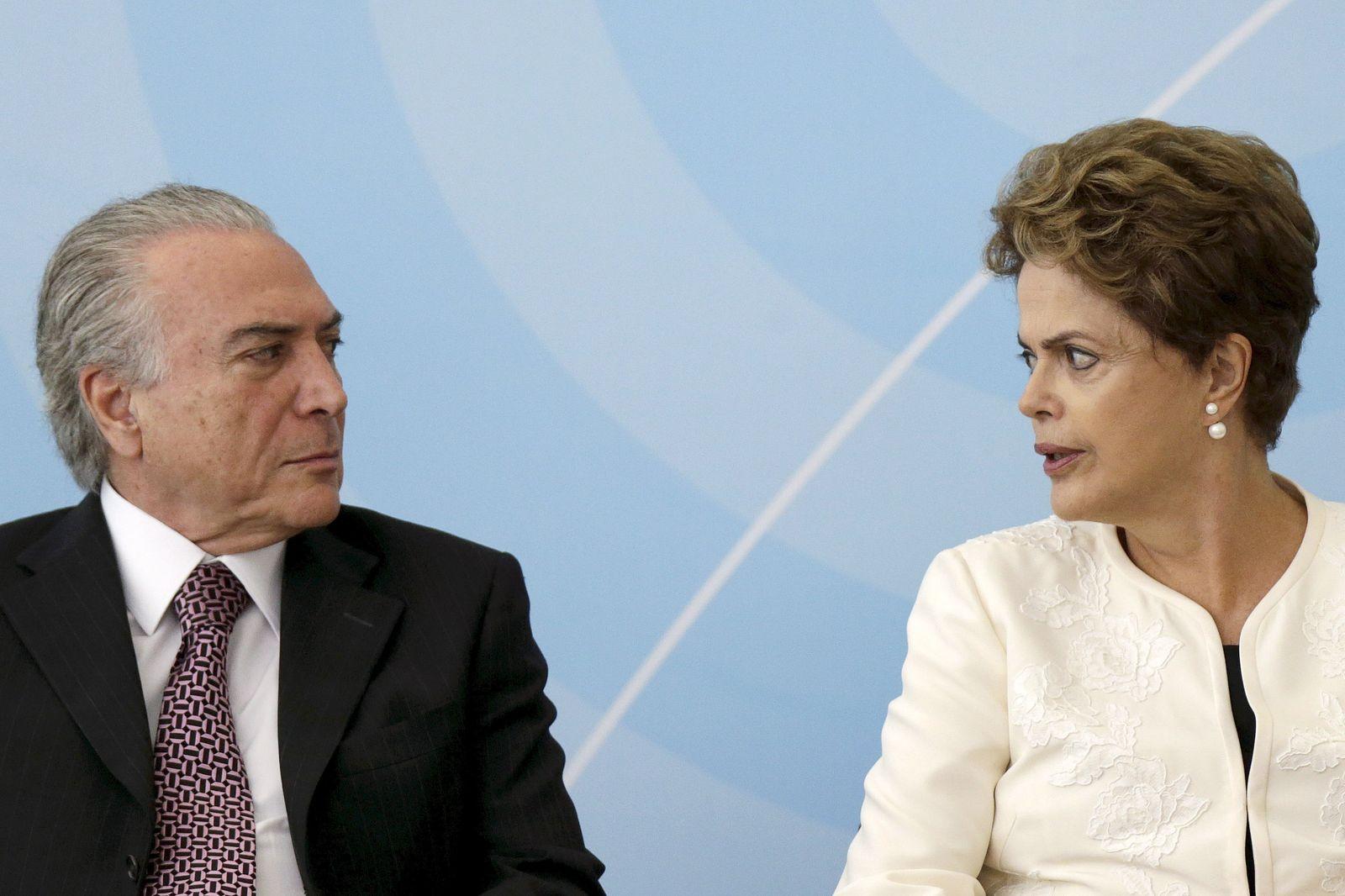 Michel Temer / Dilma Rousseff