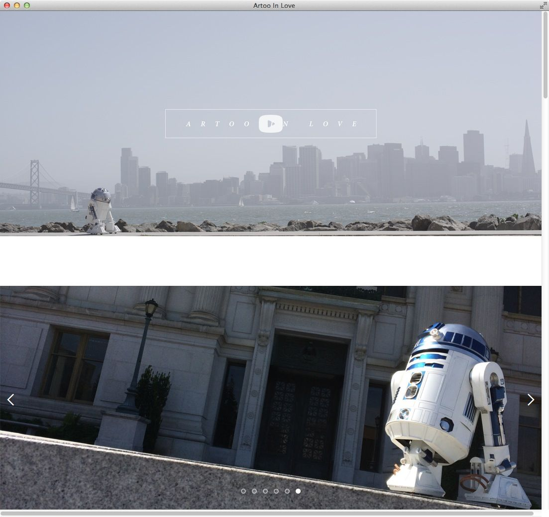 NUR ALS ZITAT Screenshot artooinlove.com